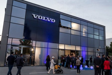 (P) Autoworld a lansat oficial showroom-ul Volvo din Cluj-Napoca si modelul XC60 Facelift Hybrid