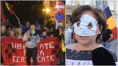 Proteste in marile orase. Oamenii s-au revoltat impotriva masurilor impuse de autoritati: Nu obligativitate! Libertate! Nu cedam, nu ne vaccinam!