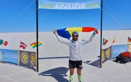 Pompierul botosanean Iulian Rotariu a castigat Ultra Bolivia Race, ultra-mar<span style='background:#EDF514'>ATON</span>ul din Anzii Cordilieri