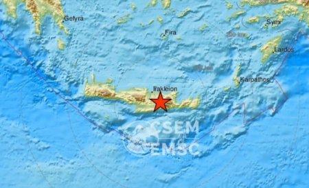 Cutremur cu magnitudinea 6,5 in insula greceasca Creta