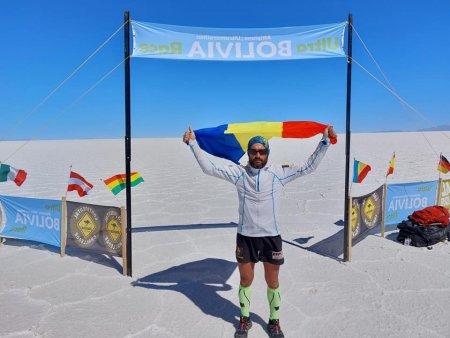 Pompierul Iulian Rotariu, din Botosani, a castigat ultramar<span style='background:#EDF514'>ATON</span>ul organizat in Anzii Cordilieri. A alergat 220 de kilometri in sapte zile
