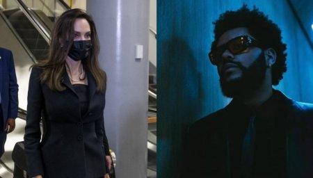 Intalnire de afaceri sau amoroasa? <span style='background:#EDF514'>ANGELINA</span> Jolie si The Weeknd, surprinsi din nou impreuna in Los Angeles
