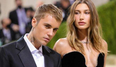 Justin <span style='background:#EDF514'>BIEBER</span> este protector cu sotia sa. Cum o alinta artistul pe femeia din viata sa