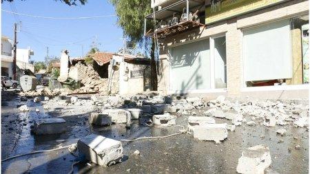 MAE: Nu sunt romani raniti in cutremurul din Creta, Grecia