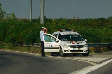 <span style='background:#EDF514'>VITEZOMANUL</span> bacauan. Un sofer a fost prins in timp ce conducea cu peste 200 de km/h pe centura orasului