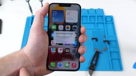 Inlocuirea ecranului iPhone 13 in afara centrelor de service Apple, penalizata prin dezactivarea Face ID