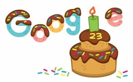Google a implinit 23 de ani. Domeniul a fost inregistrat pe 15 septembrie 1997