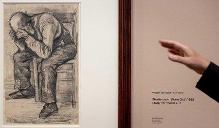 Un desen de Vincent Van Gogh este expus pentru prima data public. Care este povestea acestei schite