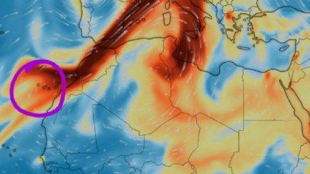 Norul toxic de cenusa vulcanica a intrat in Romania. Medicii fac apel la populatie sa se protejeze