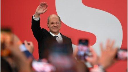 Delegatia Romana PSD din Parlamentul European il felicita pe candidatul SPD, <span style='background:#EDF514'>OLAF</span> Scholz, pentru castigarea alegerilor din Germania