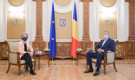 Intalnire la nivel inalt in Romania! Iohannis, Citu si Ursula von der Leyen au discutat despre miliardele Romaniei