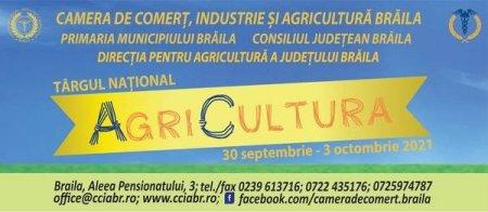 A XXIV-a editie a Targului National AgriCultura isi va deschide portile pe 30 septembrie 2021