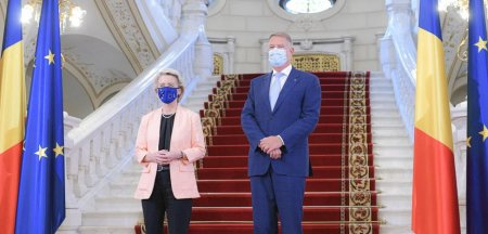 Presedintele, premierul si Ursula von der Leyen, conferinta de presa comuna LIVE VIDEO