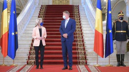 LIVE Ursula von der Leyen, anunt la Bucuresti despre PNRR-ul Romaniei/ Iohannis: Este o victorie de etapa / Citu: Pana la finalul anului Romania va primi primii banii