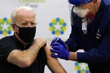 Joe Biden a primit a treia doza de vaccin anticoronavirus