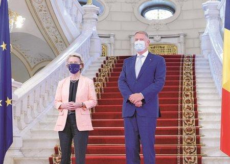 PNRR pentru Romania, de 30 de miliarde de euro a fost aprobat. Ursula von der Leyen, sefa Comisiei Europene, la Bucuresti: