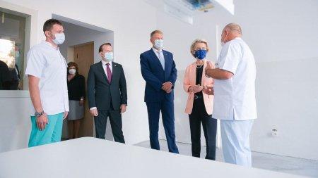 Priza iesita din perete, detaliul surpriza din camera de spital in care presedintele si premierul au dus-o pe presedinta Comisiei Europene: Cine v-a lucrat aici?