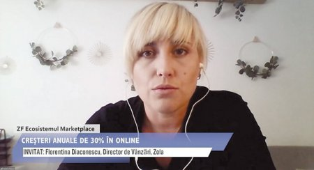 ZF Ecosistemul Marketplace. Florentina Diaconescu, Zola: In 2020 am avut afaceri de 3 <span style='background:#EDF514'>MILI</span>oane de lei, plus 300%, iar tinta este sa ajungem la 7 <span style='background:#EDF514'>MILI</span>oane de lei