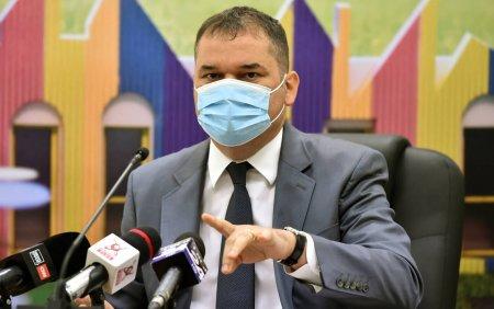 Cseke Attila a anuntat cresterea numarului de paturi de ATI si cu oxigen in Bucuresti. Doua spitale vor deveni exclusiv COVID
