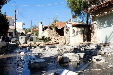 Insula Creta, zguduita de replici seismice a doua zi dupa cutremurul de 5,8