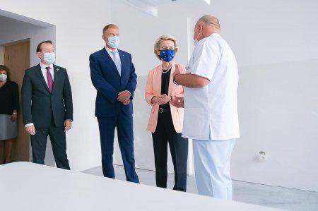 Glume pe Facebook despre priza desprinsa din salonul de spital vizitat de Ursula von der Leyen. Explicatiile consilierului lui Iohannis