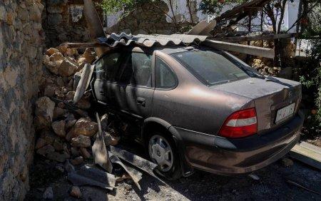 Insula Creta, zguduita de replici seismice, dupa cutremurul de 5,8 grade