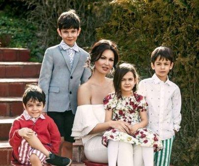 Nicoleta Luciu se mandreste cu cei patru copii. Ce activitati au la Miercurea Ciuc