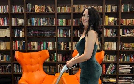Amalia Nastase locuieste cu chirie intr-o vila de lux. Imagini din casa vedetei:
