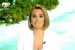 Andreea Esca, TOP 3 gafe monumentale, in direct, la Pro TV!