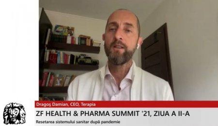 Dragos Damian, CEO Terapia Cluj: Nevoia de servicii medicale este in crestere la nivel global. Daca ne pozitionam bine pe acest segment, avem o sansa reala sa reducem din deficitul comercial si sa pregatim mai bine resursa umana