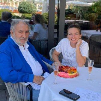 Țiriac, tort surpriza pentru Simona Halep! Cum au sarbatorit cei doi aniversarea campioanei