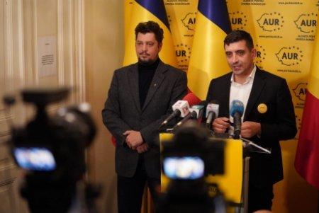 AUR anunta ca va vota PRIMA MOȚIUNE de cenzura care ajunge in dezbaterea Parlamentului
