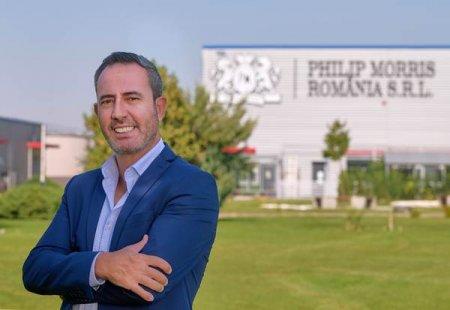 Joao Brigido a fost numit director al fabricii Philip Morris Romania