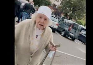 Activista PSD Oana Lovin si-a batut joc de o pensionara de peste 80 de ani: <span style='background:#EDF514'>BABEL</span>e USR ne-au atacat