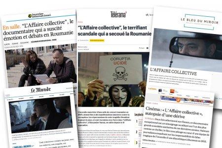 Presa din Franta despre filmul Colectiv. Le Monde: O drama criminala shakespeariana demna de un thriller