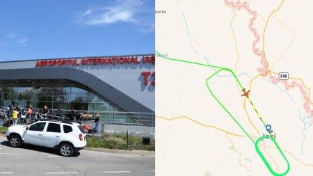 Planul rosu activat la Iasi, pentru o avion cu 100 de pasageri care a anuntat probleme la trenul de aterizare