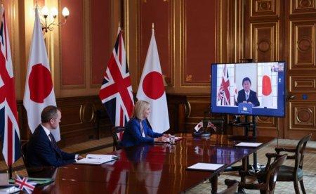 Marea Britanie va intensifica relatiile militare cu Japonia
