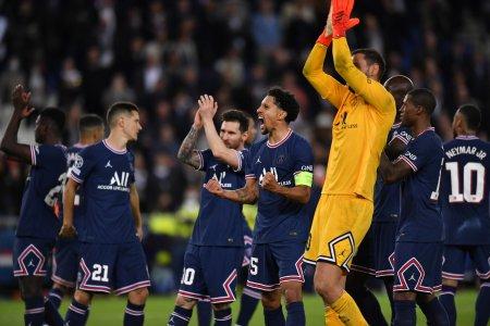 PSG invinge Manchester City. Messi, primul gol pentru echipa franceza
