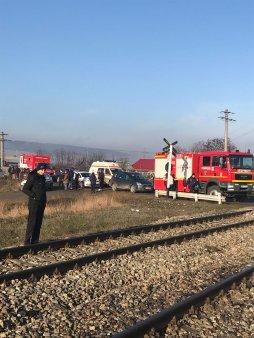 O femeie din Vaslui a fost calcata de tren in timp ce incerca sa-si salveze curcile de pe sine