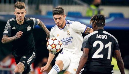 Real Madrid - Seriff Tiraspol 1-2. Galacticii, invinsi de campioana Republicii Moldova. Rezultate din Liga Campionilor (Video)