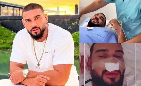 <span style='background:#EDF514'>DORIAN</span> Popa s-a operat la nas din cauza unei probleme de sanatate. Care este starea artistului dupa interventie