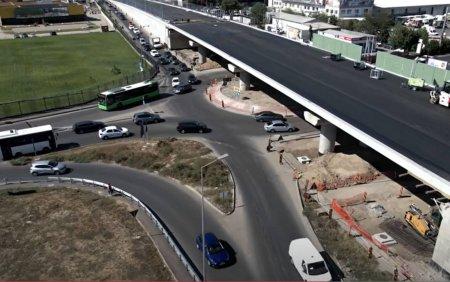 Pasajul de la Mogosoaia, inaugurat cu mult inainte de termen. Cat a costat <span style='background:#EDF514'>PODU</span>l de pe centura Bucurestiului VIDEO