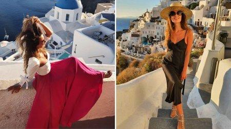 Olivia Paunescu, prezentatoarea Observator 12 de la Antena 1, a doua luna de miere, <span style='background:#EDF514'>IN GRECIA</span>