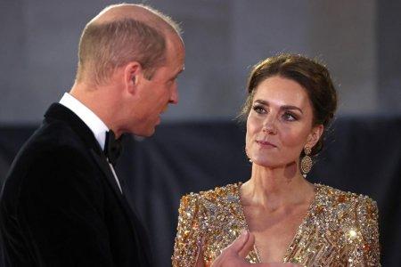 <span style='background:#EDF514'>KATE</span> Middleton a atras toate privirile la premiera filmului No Time to Die. Cum s-a imbracat Ducesa de Cambridge