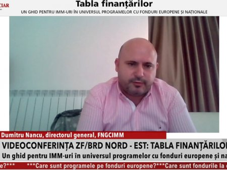Dumitru Nancu, FNGCIMM: Am depasit cifra de 11.000 de <span style='background:#EDF514'>GARANTI</span>i acordate prin programul IMM Invest, care se ridica la 9 mld. lei