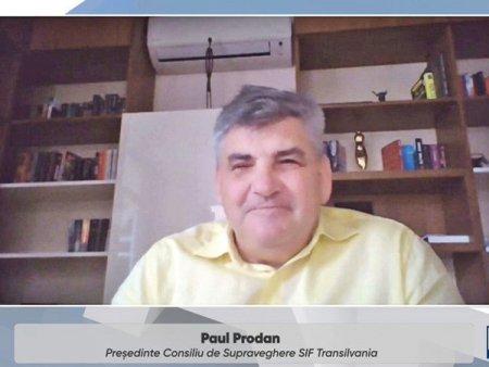 Paul Prodan, <span style='background:#EDF514'>SIF TRANSILVANIA</span>: In ultimii 30 de ani, capitalul strain a vazut potential, dar capitalul romanesc nu. Cati dintre noi am investi 100.000 de euro, cu riscul de a-i pierde, intr-un proiect de cercetare?