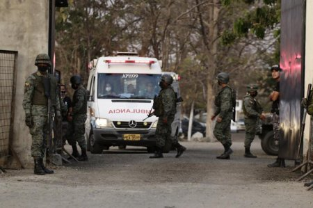 <span style='background:#EDF514'>MASACRU IN</span> Ecuador. Cel putin 116 detinuti au murit in cel mai mortal act de violenta raportat vreodata in sistemul penitenciar