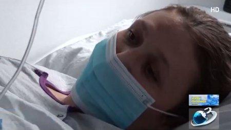 Gravida infectata cu COVID, in lacrimi de pe patul de spital: Nu puteam sa respir! T<span style='background:#EDF514'>RAGEA</span>m de medici sa imi dea oxigen, desi aveam masca pe fata!