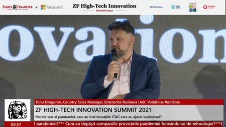 Dinu Dragomir, Country Sales Manager, Vodafone Business Unit, Vodafone Romania: S-a triplat numarul clientilor cu care avem discutii semnificative despre businessul lor. Daca am dubla din nou acest numarul am fi si mai bine la nivel de societate