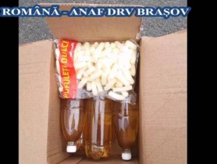 Transport ilegal de vin din Republica Moldova, depistat in Alba